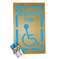 LSP Safety Handicap Stencil Kit